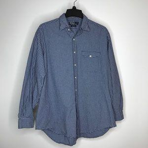 Polo Ralph Lauren Wyatt Button Front Shirt Size XL
